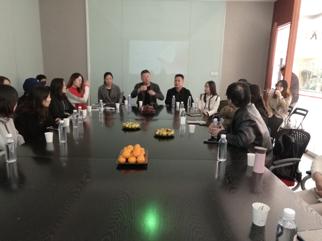 会员大走访活动— 走进南京圣可尼服饰实业有限公司